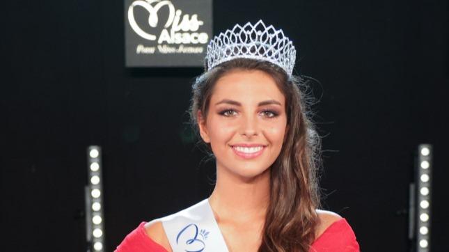 Cécile Wolfrom élue Miss Alsace 2021