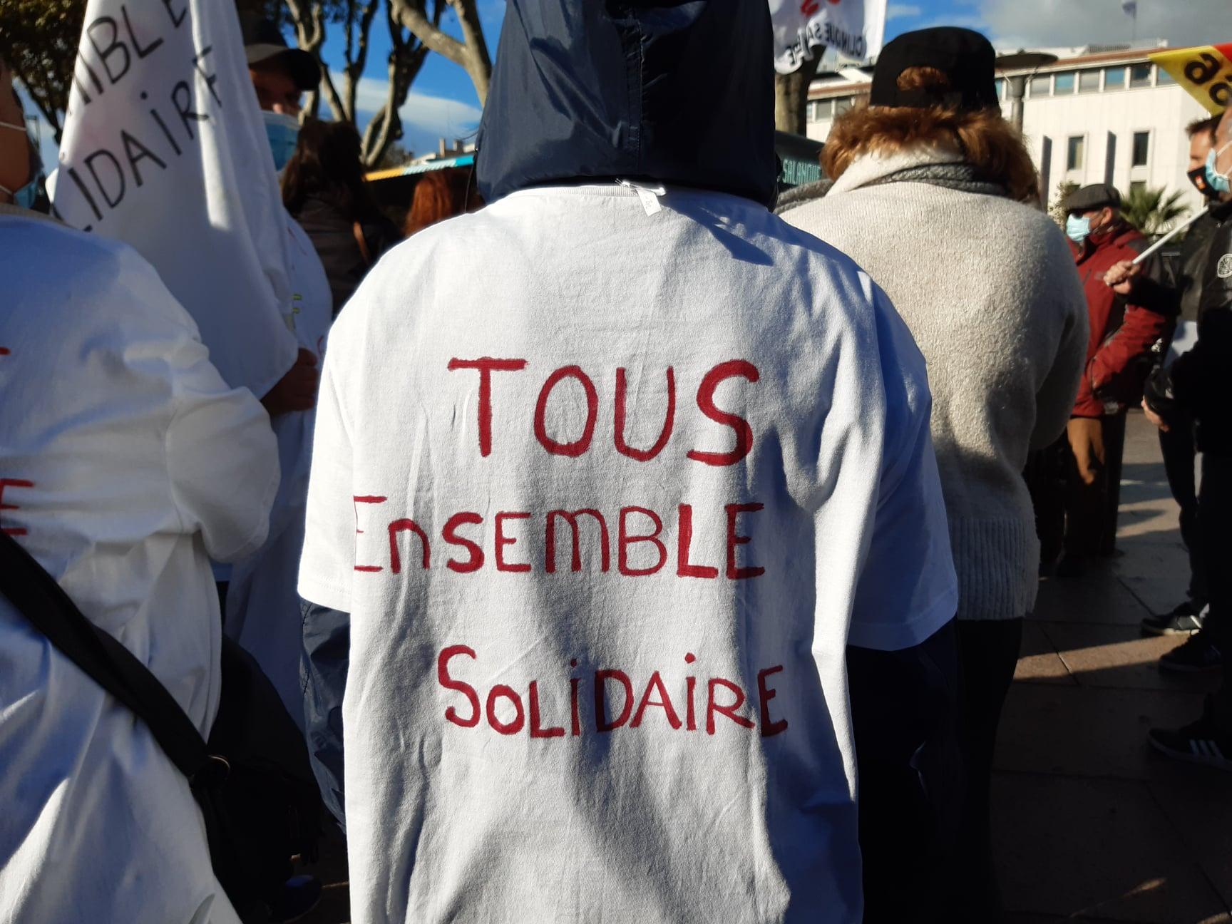Manifestation contre la précarité