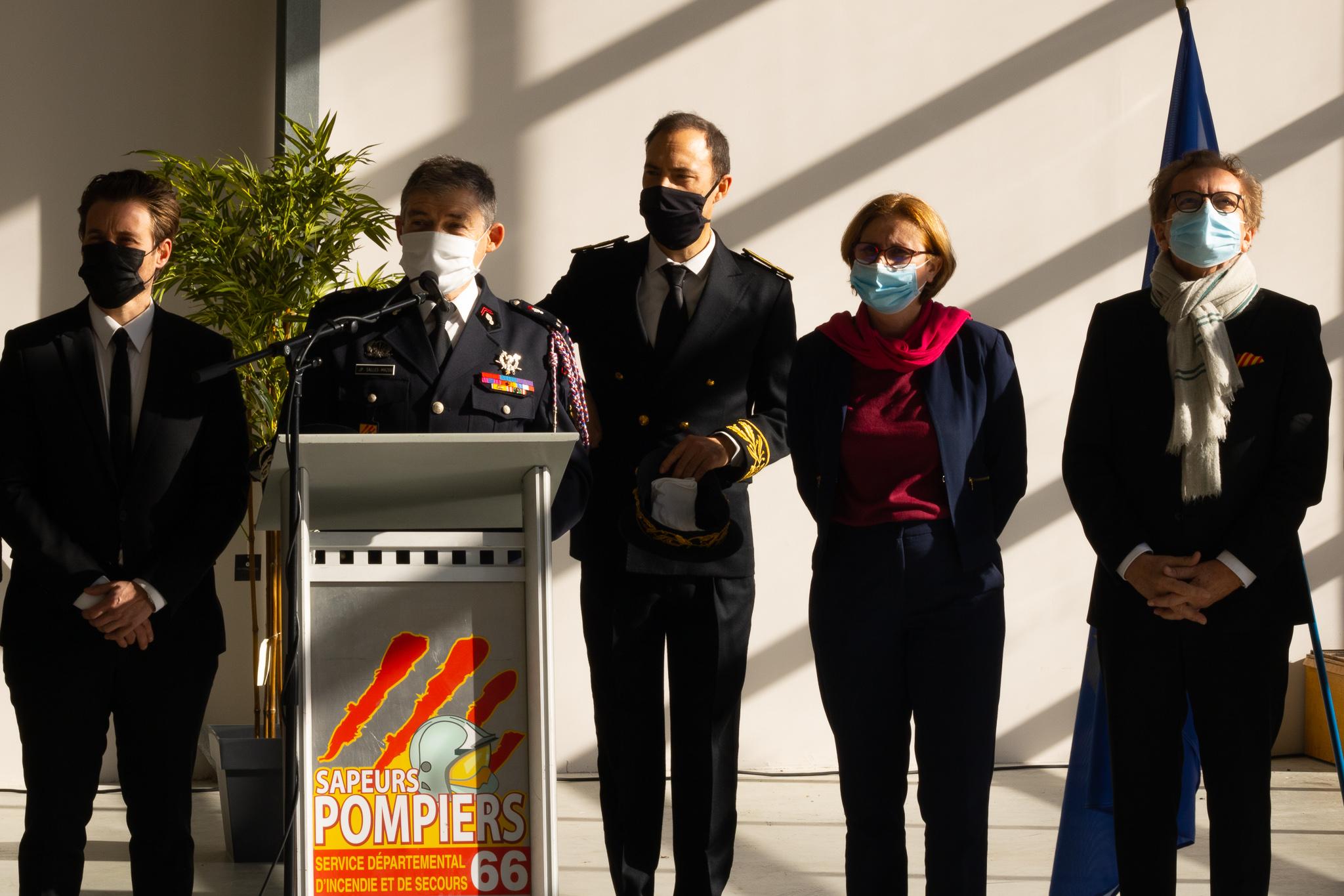 Les élus présents à la cérémonie