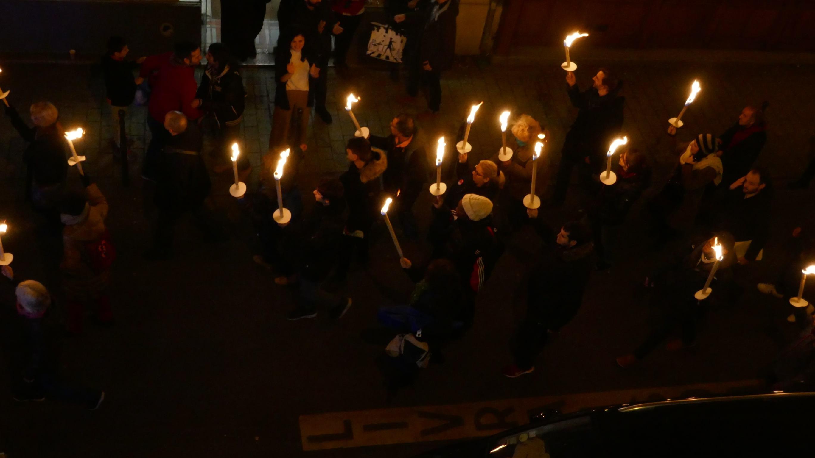 Perpignan : marche aux flambeaux ce soir