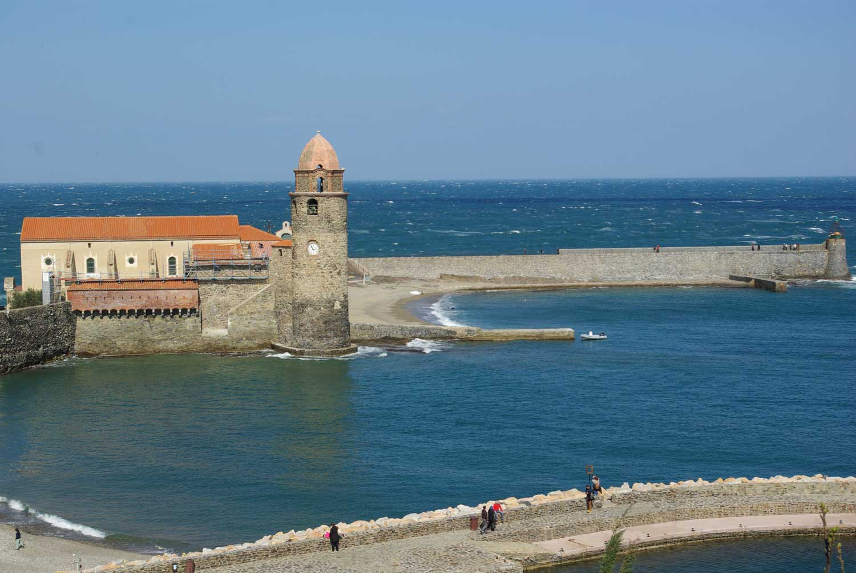 Le clocher de Collioure