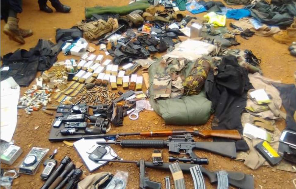 Centrafrique: arrestation d'un Français détenant un important arsenal -  Africa Radio