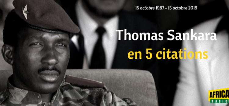 Thomas Sankara En 5 Citations Africa Radio
