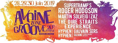 Affiche Avoine Zone Groove 2019