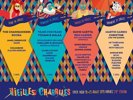 Affiche Vieilles Charrues 2019