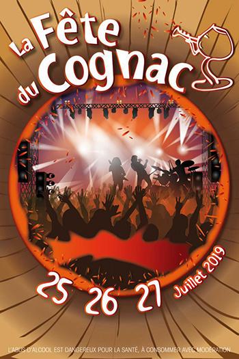 Affiche Fête du Cognac