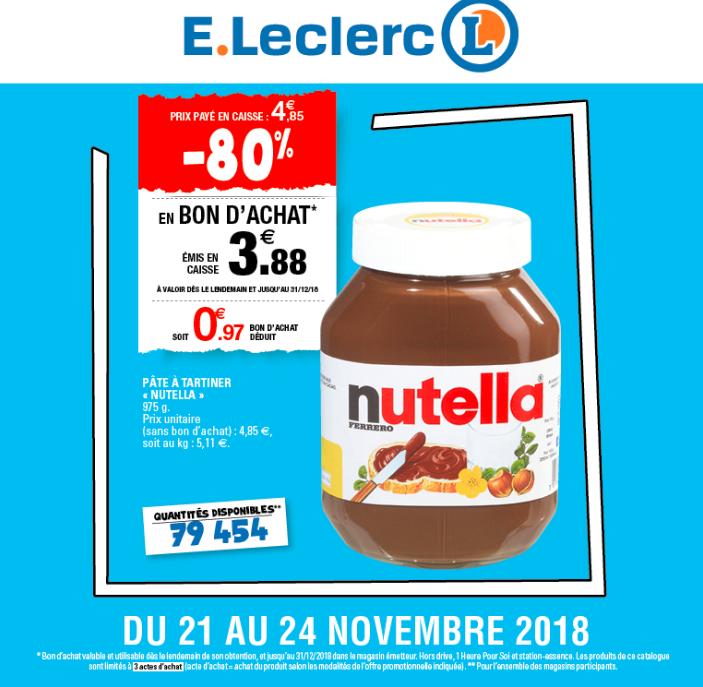 Nutella Promo Code