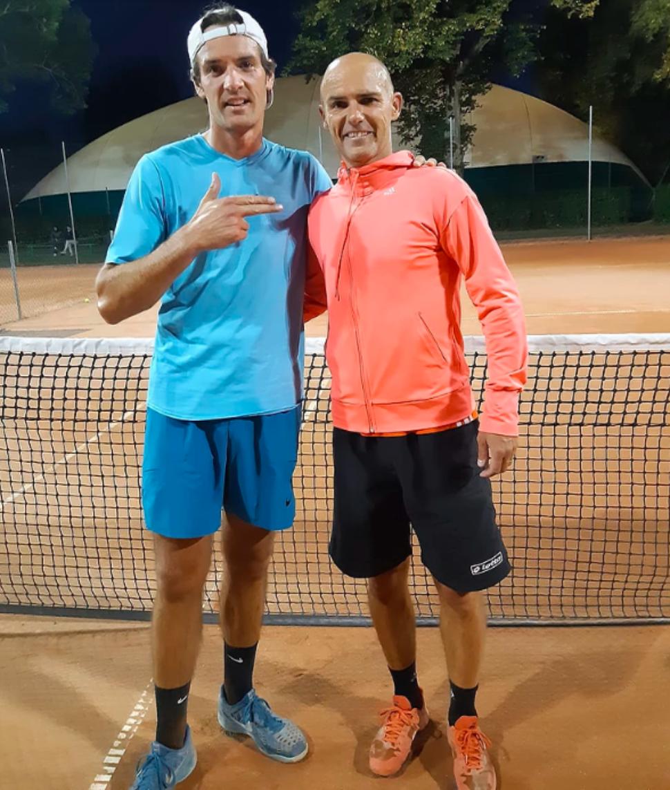 L'ancien footballeur Benjamin Nivet enchaîne treize victoires au tennis — Insolite