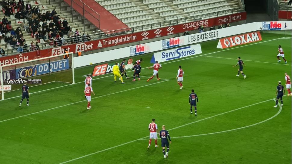 LIGUE 1 : Le PSG enchaîne en battant Reims 2-0