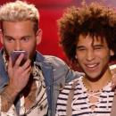 A The Voice, Samuel snobe M Pokora