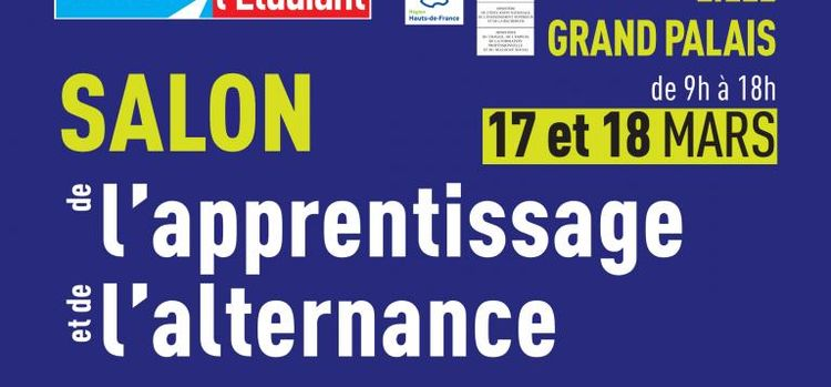Salon de l 39 apprentissage et de l 39 alternance de lille for Salon master lille
