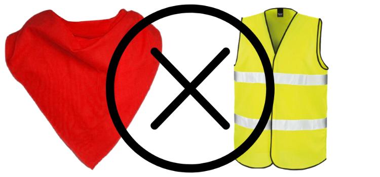 Les Foulards Rouges comptent s opposer aux actions des Gilets Jaunes -  Contact FM 550ae6a0c2c