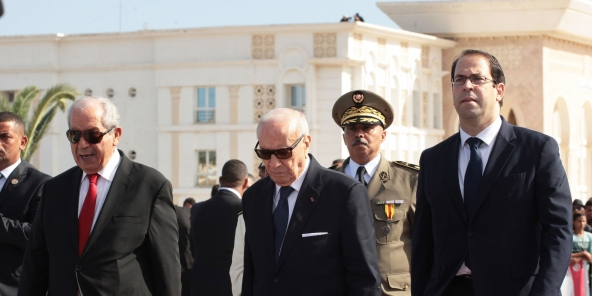 Béji Caid Essebsi et Youcef Chahed
