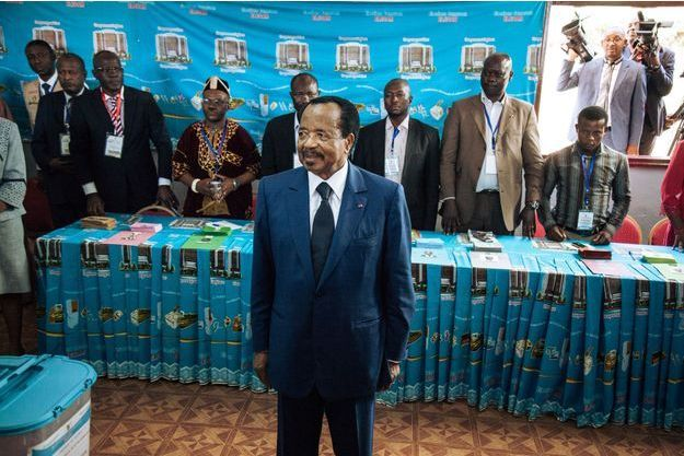 Le Président Paul Biya 7eme mandat