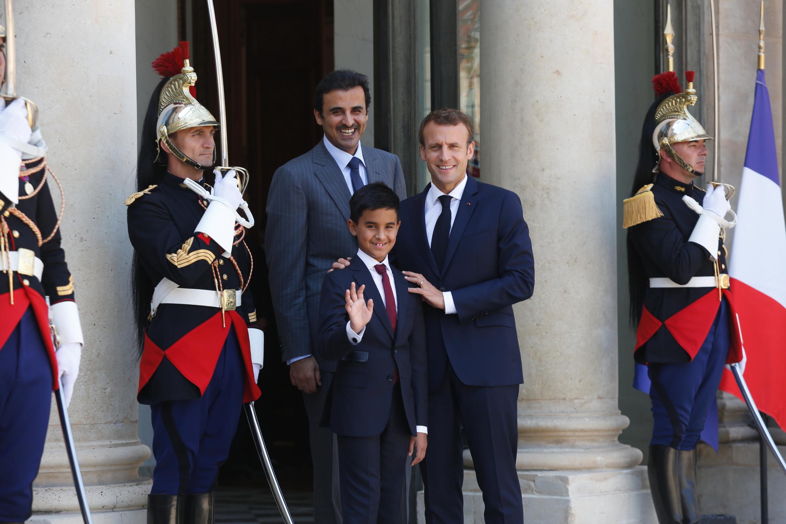 Macron et le Qatar