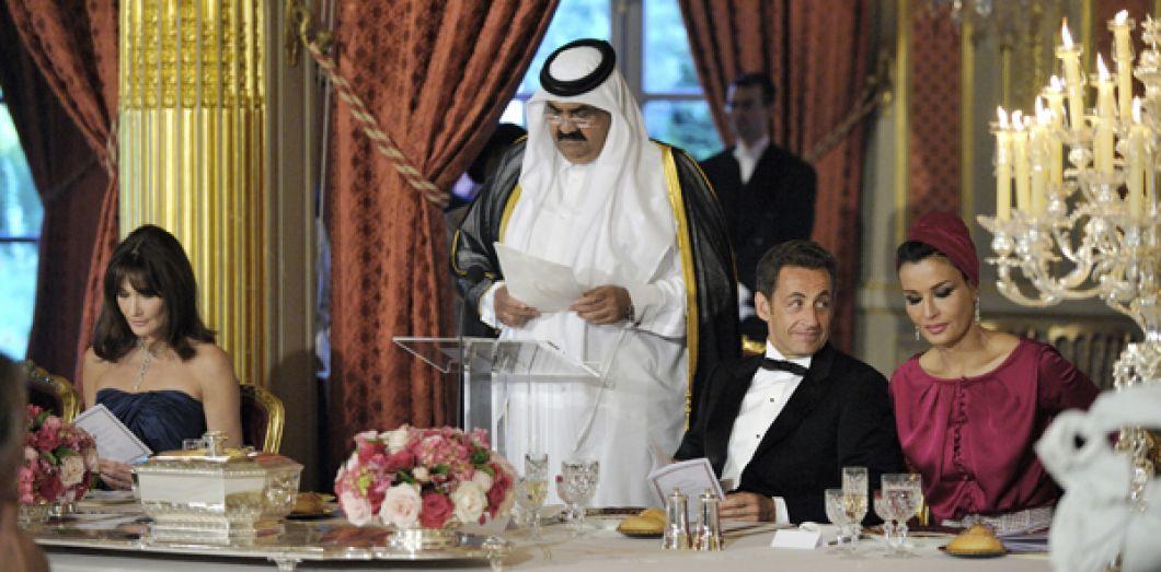 Sarkozy et le Qatar