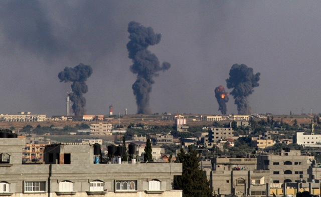 Israel bombarde la bande de gaza ce 25 mars
