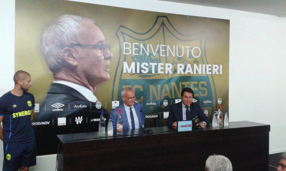 Les premiers mots de Ranieri — Nantes
