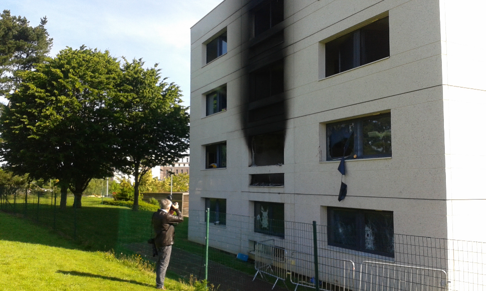 Un des étudiants blessés est décédé — Incendie à CentraleSupélec