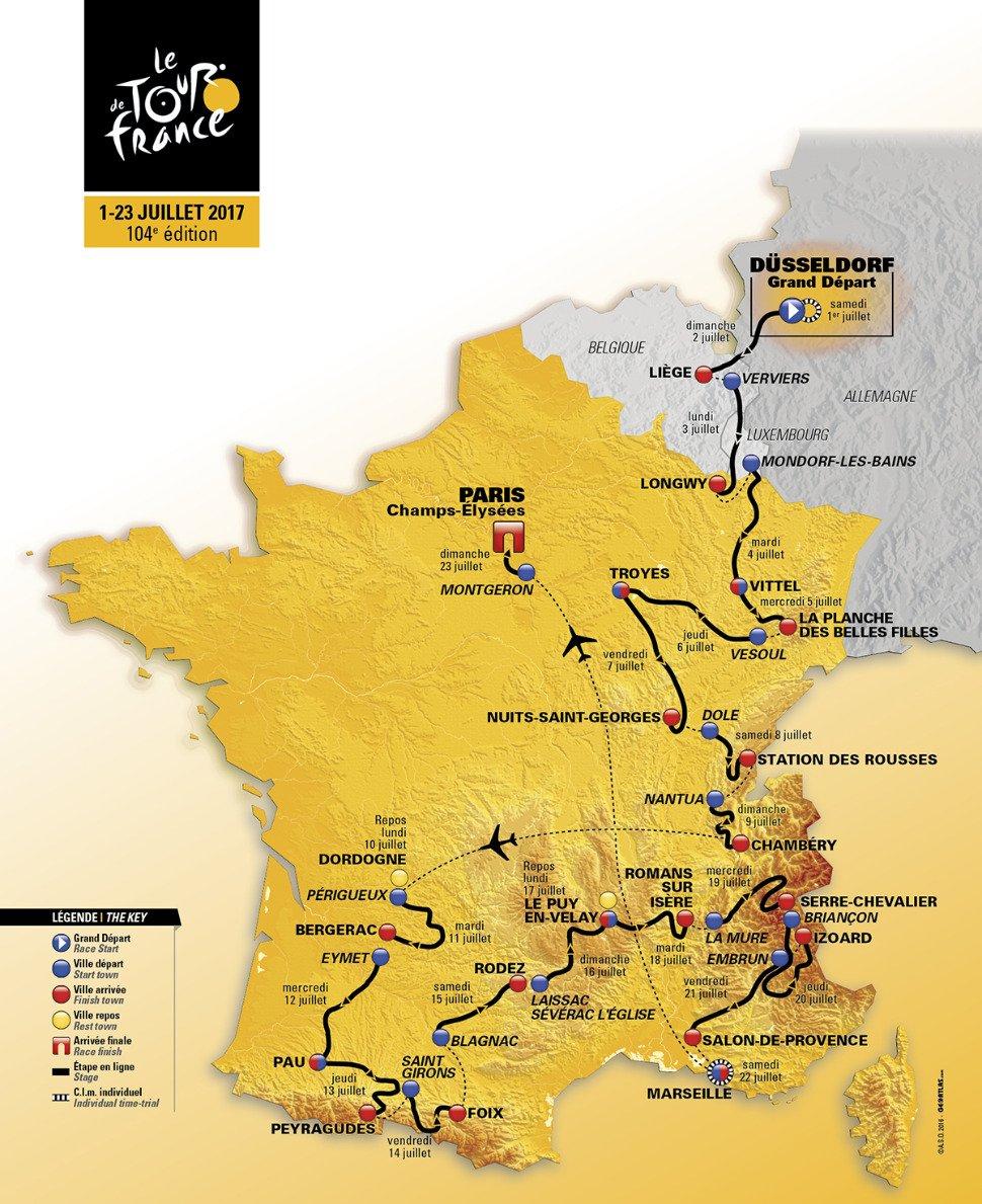 La 4e étape du Tour en direct : Mondorf-les-Bains - Vittel