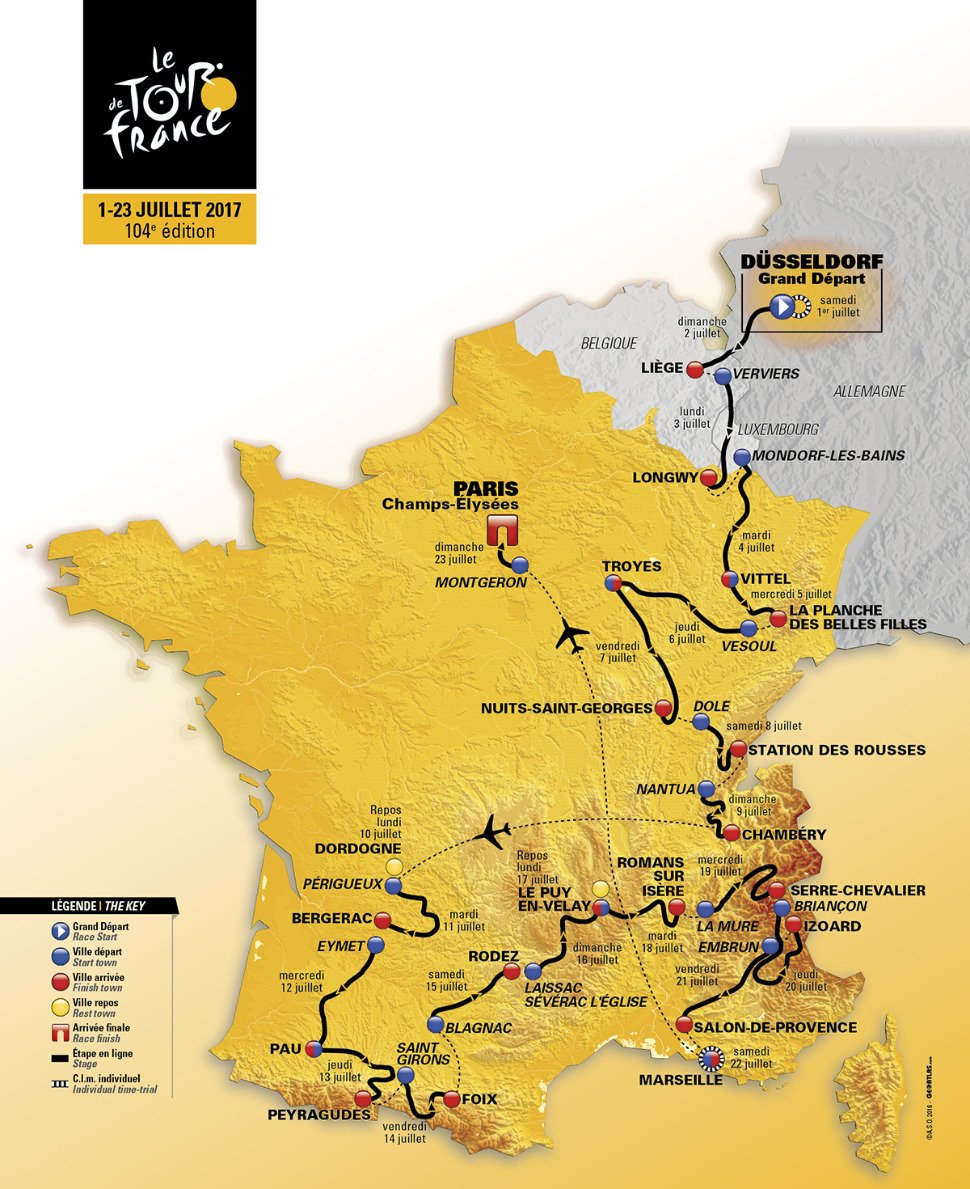 Les Pyrénées sourient à Romain Bardet, Aru prend le maillot jaune