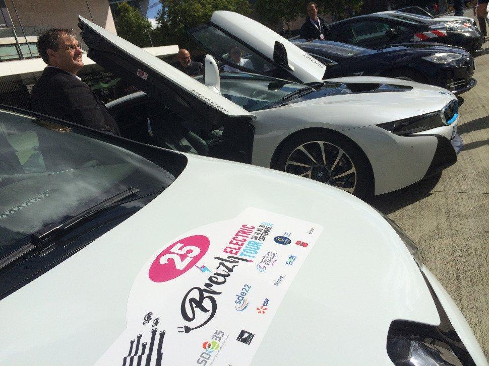 Lorient. Le Breizh Electric Tour fait étape vendredi