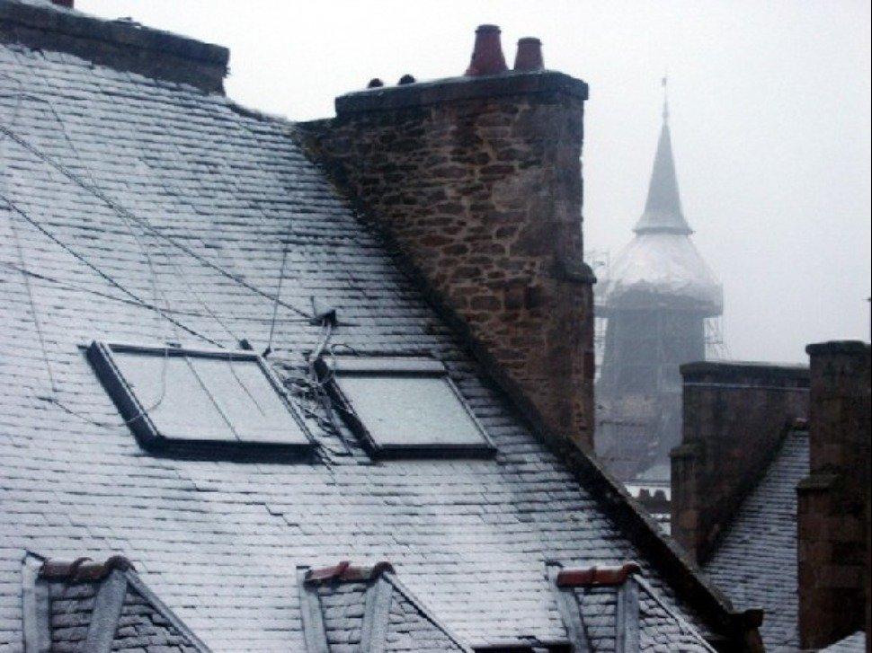 Orne, Calvados et Manche placés en vigilance Jaune — Neige