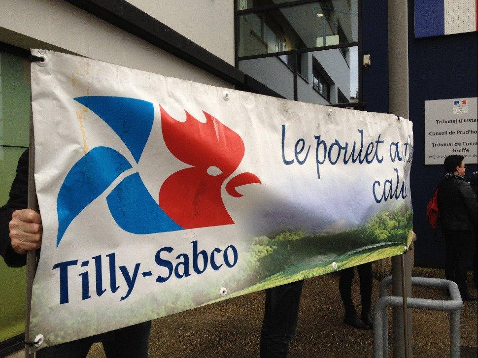 Placé en liquidation, le volailler Tilly-Sabco licencie 63 salariés