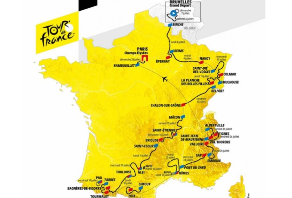Tour de France : suivez en direct l'étape 11 entre Albi et Toulouse