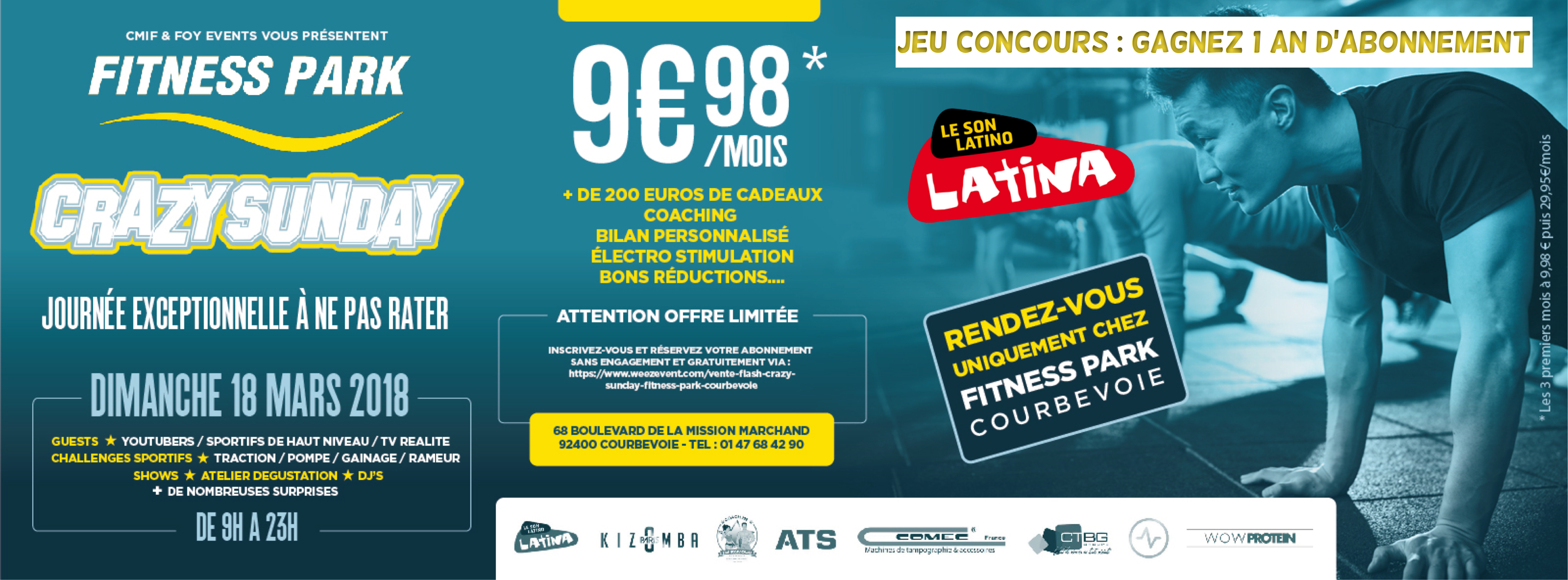 Fitness Park Courbevoie