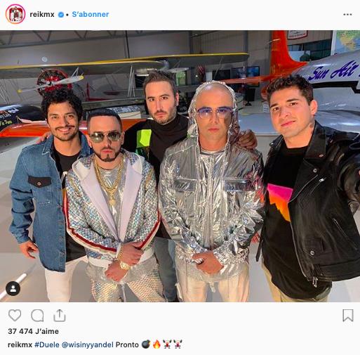 Reik Instagram