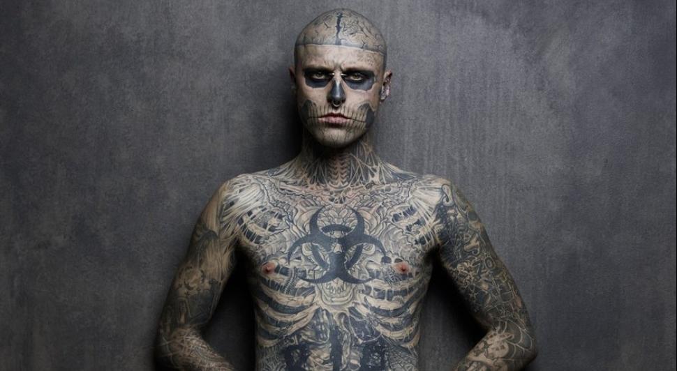 Le mannequin et DJ est mort — Zombie Boy