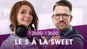 Le 5 à la Sweet avec Milène et JiCé