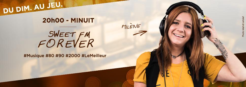 Sweet FM Forever avec Milène