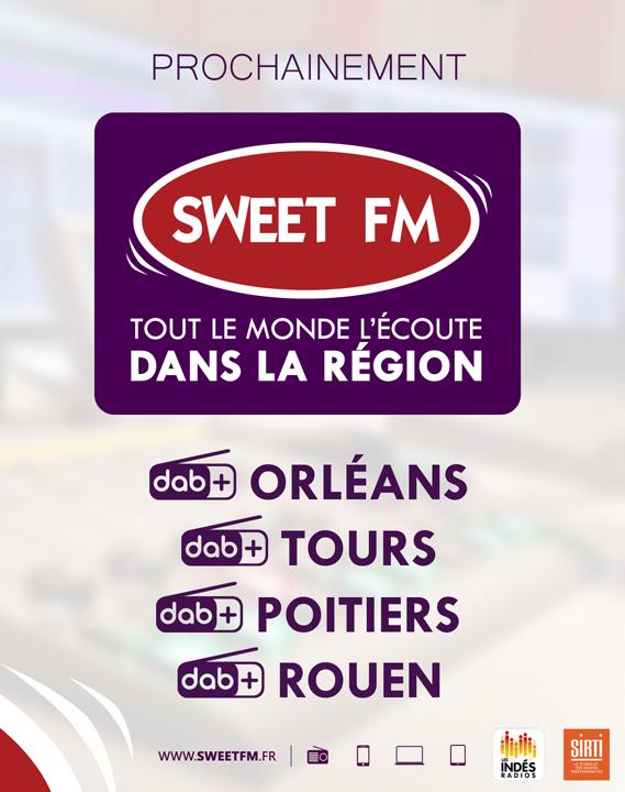 Prochainement Sweet FM en DAB+