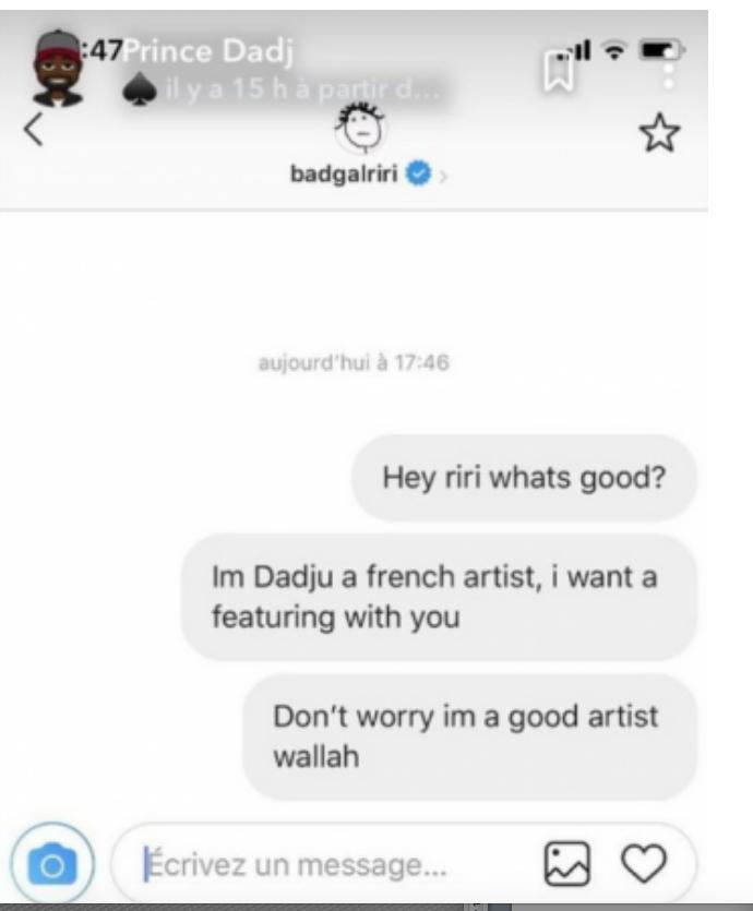 L'étonnante réaction de MHD après le message de Dadju envoyé à Rihanna