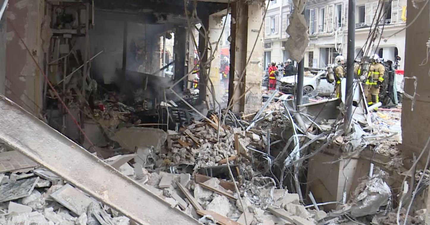 Explosion rue de Trévise - 9e arrondissement / BSPP