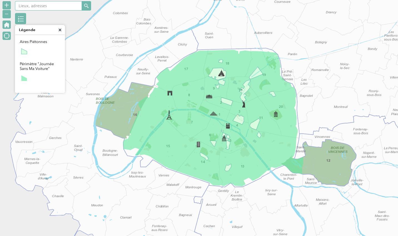 A Paris, Hidalgo interdit la circulation des voitures dimanche