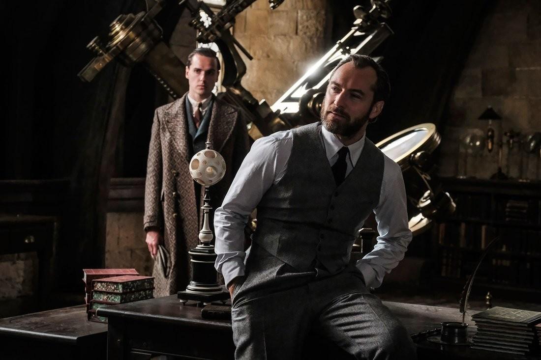 Jude Law dans le rôle d'Albus Dumbledore