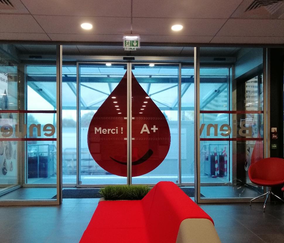Bordeaux : la maison du don de l'établissement français du sang fait peau neuve - Wit FM